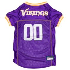 NFL Pets First Mesh Pet Football Jersey - Minnesota Vikings 4385b803f