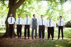 Groom & his Groomsmen (Barefeet Photography)