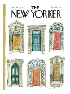 The New Yorker Cover - July 16, 1979 Poster Print  by Laura Jean Allen at the Condé Nast Collection