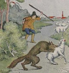 """The Boy Who Cried Wolf: A bored shepherd boy amuses himself by calling """"wolf"""" so that the villagers will run to help him… only to find that it's a false alarm. When a wolf actually comes, no one takes his cries for help seriously, so he loses his sheep to the wolf.  Moral of the story: """"Even when liars tell the truth, they are never believed. The liar will lie once, twice, and then perish when he tells the truth."""""""