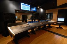 The Audio Temple features a 72 channel SSL Duality recording console. Singer/Songwriter Artist Sessions are typically booked here. This studio is also equipped with an electric grand piano.