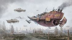 Return to Steam City by Simon Buckroyd by *Binoched on deviantART