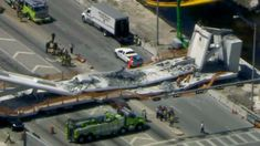Several fatalities were reported after a newly-built pedestrian bridge at Florida International University collapsed Thursday, leaving several vehicles trapped underneath the sprawling wreckage.
