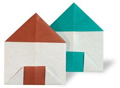 Origami House....with star