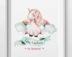 Cute Unicorn Stickers For Clothes Parches Ropa A-Level Washable Easy Print By Household Irons T-Shirt Diy Decoration Patch Brand:Colife Unicorn Sketch, Unicorn Art, Rainbow Unicorn, Rainbow Baby, Unicorn Illustration, Cute Illustration, Kids Name Art, Good Morning Posters, Dreamland