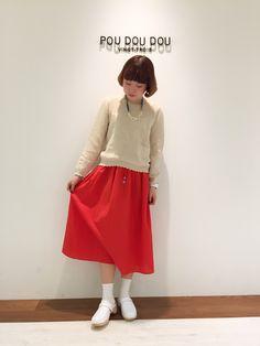 気分も明るくなります♡新作スカート!   アトレマルヒロ川越店   POU DOU DOU ショップブログ