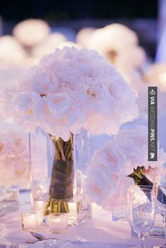 Wow! - White peonies -- beautiful | CHECK OUT MORE GREAT WHITE WEDDING IDEAS AT WEDDINGPINS.NET | #weddings #whitewedding #white #thecolorwhite #events #forweddings #ilovewhite #bright #pure #love #romance