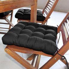 Foto 1 - Assento Para Cadeira Futton Confort - 40 X 40 Cm Preto