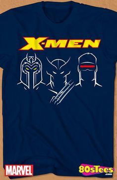 6ba064ece Outline X-Men T-Shirt  X-Men Mens T-Shirt X-Men Geeks  These celebrity  characters have been seen in films and comic books and the design and  illustration of ...