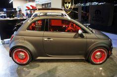 Fiat 500 Beach Cruiser at 2012 SEMA Show