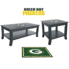 Use this Exclusive coupon code: PINFIVE to receive an additional 5% off the Green Bay Packers Table Set at SportsFansPlus.com