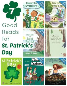 7 Good Reads for St. Patrick's Day - have you ever read any of these?