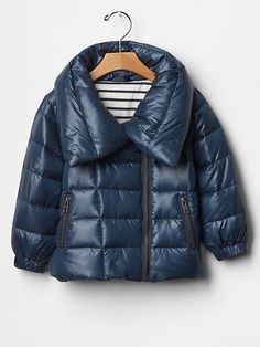 Warmest zip puffer jacket Product Image