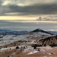 The view driving into #CrippleCreek, #Colorado. @CtyCrippleCreek @TheRushCasino http://www.heiditown.com/2013/01/02/a-stay-at-the-rush-casin-in-cripple-creek-colorado/