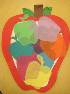 Manzanas de colores @ kindergartensmiles