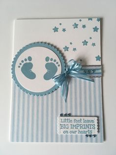 Stampinup Baby blue – Petalpumpkin Buying Gently Used Baby Clothing Article Body: Remember that ador Baby Boy Cards Handmade, Baby Girl Cards, New Baby Cards, Kids Cards, Scrapbook Cards, Homemade Cards, Stampin Up Cards, Cardmaking, New Baby Products