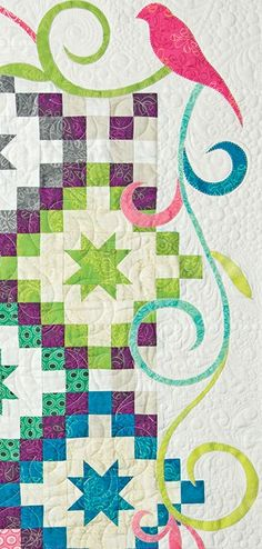 closeup, Oh, Happy Stars! in: Recreating Antique Quilts by Wendy Sheppard