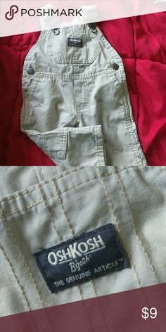 Overalls Baby Overalls Never Worn Just Washed , to small for my son! Size 6 months Osh Kosh One Pieces