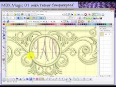 ▶ MBX Magic 01 - The magic of Janome Digitizer MBX software - YouTube
