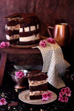 Perdida soy yo del Coco tanto como del Chocolate por eso esta tarta me gusta tanto tantohttps://goo.gl/rwpXgr
