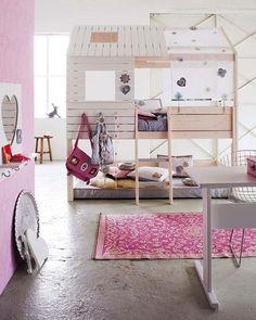 Indoor playhouse.......cute!