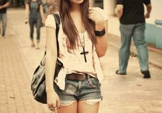 #casual #summer #outfit #girls #fashion