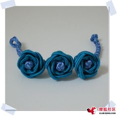 roses bracelet tutorial must try! @ecrafty #ecrafty #diybracelets #braceletsupplies