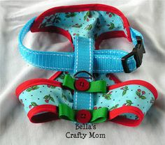 Bella's Crafty Mom: Bella's Cheery Cherry Harness