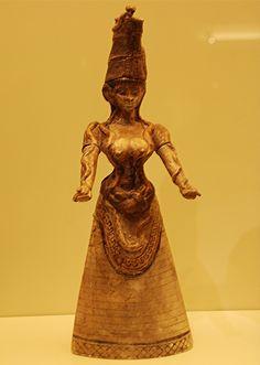 66. Snake Goddess from Knossos