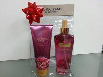 Victoria´s Secret Gift Set Ravishing Love Blackberry and Lilac Body Creme, Fragance Mist