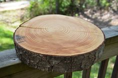 Rustic Wood Slab from Tree Slice from Tree by raisedsoutherly, $25.00