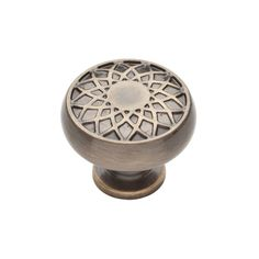 1487d6a4cc32 Baldwin 4636 Couture 1-1 4 Inch Diameter Mushroom Cabinet Knob from the  Estate C Satin Brass and Black Cabinet Hardware Knobs Mushroom
