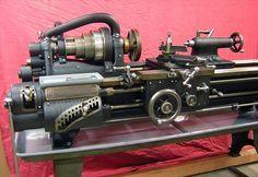 Hendey Lathe 14x6? Antique Tools, Old Tools, Vintage Tools, Milling Machine, Machine Tools, Turret Lathe, Manual Lathe, Metal Working Machines, Metal Lathe Tools