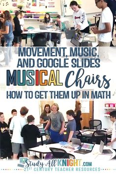 Math classroom activity, students love music, technology and Algebra Activities, Teaching Math, Math Games, Class Games, Numeracy, Math Classroom, Classroom Activities, Google Classroom, Lincoln