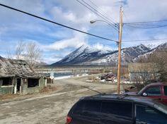 April 12, 2015. Carcross Yukon Canada.
