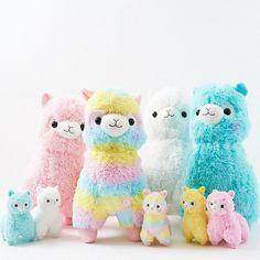 Alpacasso Plushies - Rainbow (Large) from otakumode.com