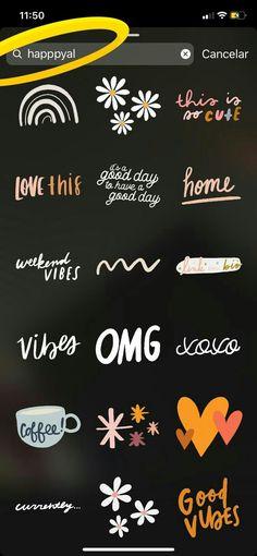 like app Gifs Blog Instagram, Instagram Emoji, Creative Instagram Stories, Instagram And Snapchat, Instagram Story Template, Instagram Story Ideas, Instagram Quotes, Citations Instagram, Insta Photo Ideas