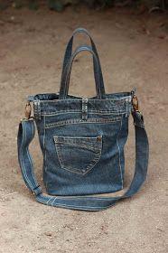 25 Идеи конвертировать ваши старые джинсы в сумки!   Сделай сам - Строительство DIY - Сделай сам