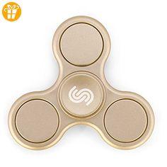 Spreaze Fidget Spinner Handkreisel, Matte Oberfläche EDC Spinner Fidget Spielzeug, Dreifach-Spinner Fidget und Ultra Geschwindigkeit - Premium Hybrid Keramiklager - Fidget spinner (*Partner-Link)