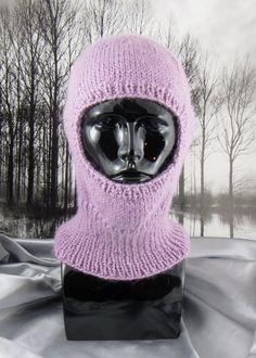 knitting pattern- Simple Chunky Balaclava pdf download knitting pattern. $3.95, via Etsy.
