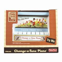 Fisher Price Change-a-Tune Piano Fisher Price Toys, Classic Toys, Piano, Change, Boys, Baby Boys, Sons, Pianos