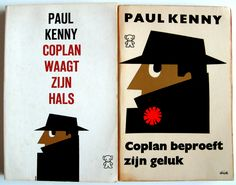 https://flic.kr/p/4wYAqL | Dick Bruna Coplan Book Covers | Books by Paul Kenny. Designs: 1965, 1964.