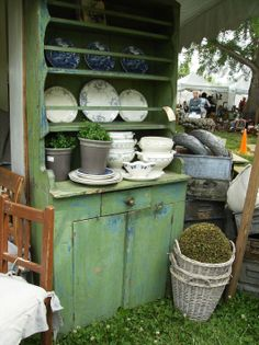 blues and greens -  Lucketts Spring Market in Lucketts, VA
