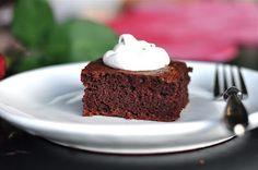 grain-free, dairy-free chocolate cake