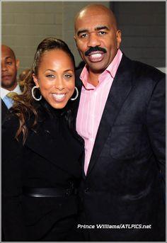 Steve and Marjorie Harvey Favorite Celebrities, Famous Couples, Black Love, Family Fashion, Steve Harvey Wife, Steve, Social Medium, Cute Couples, Celebrity Couples