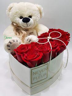 Ljubav je to Valentines Flowers, Valentines Diy, Valentine Day Gifts, Valentine Bouquet, Birthday Wishes For Kids, Happy Birthday Flower, Red Rose Bouquet, Candy Bouquet, Flower Box Gift