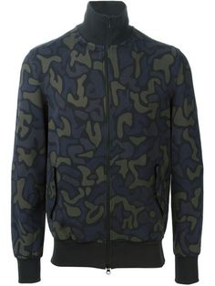 Shop Y-3 camouflage zipped sweatshirt  in Hervia Bazaar from the world's best independent boutiques at farfetch.com. Shop 300 boutiques at one address.