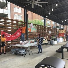 We're setting up for opening day of the Ponce City Farmers Market! See you at The Shed from 4PM-8PM. Can't make it today? We'll be here every Tuesday!  #myPCM #PonceCityMarket #ATL #PonceCityFarmersMarket #farmersmarket
