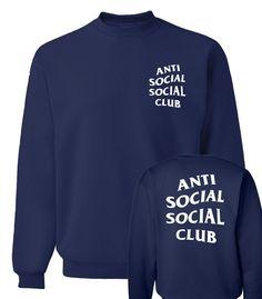 2018 AntiSocial Social Club Rainbow Hoody Size S M L XL Multi