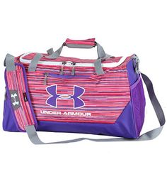 6d3d0aeb98 Under Armour UA Hustle Small Duffle Bag Under Armour Outfits